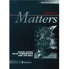 Advanced matters. Teacher's book