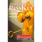 Pass key. First certificate. 3 cassettes