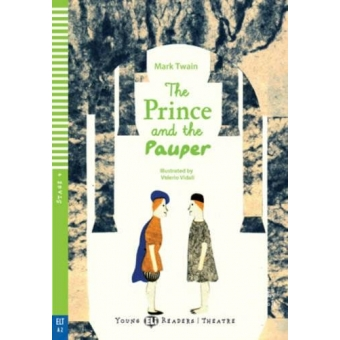 Young ELI Readers - The prince and the pauper + Audio-CD - Stage 4 - A2 Flyers