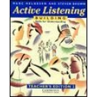 Active listening. Teacher's edition. Building skills for understanding.