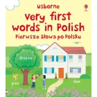 Usborne Very First Words in Polish - Pierwsza slowa po Polsku