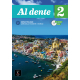 Al dente 2 Libro dello studente + Esercizi + CD audio e DVD A2