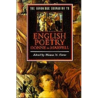 The Cambridge Companion to English Poetry,Donne to Marvell