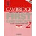 Cambridge Practice Tests for First Certificate 2. Teacher's Book