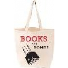 LoveLit Books not Bombs Tote bag