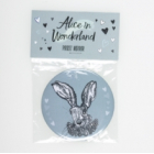 Pocket Mirror White Rabbit