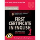 Cambridge First Certificate in English 1 for Updated Exam Self-Study Pack(Book with 2 Audio Cds)