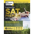 Cracking the SAT Premium Edition with 6 Practice Tests, 2017 (College Test Prep)