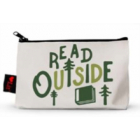 Read Outside Pencil Pouch