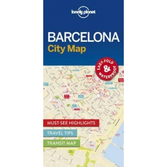 Barcelona City Map Lonely Planet