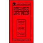 The International Menu Speller