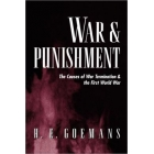 War and punishment (The causes of war termination & the First World War)