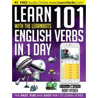 Learn 101 English Verbs in 1 Day (Learnbots)
