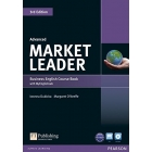 Market Leader 3rd Edition Advanced Coursebook with DVD-ROM and My EnglishLab Access Code Pack