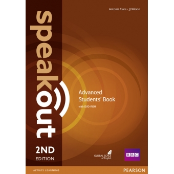 Speakout Advanced 2n Edition. Students' Book with DVD Pack