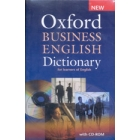 New Oxford Business English Dictionary + CD-ROM for learners of English