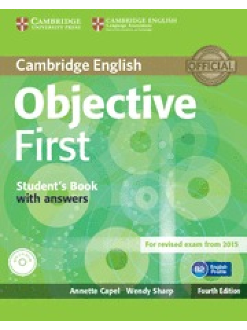 Objective First 4th edition Student's book with answers