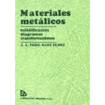 Materiales metálicos. (Solidificación, diagramas, transformaciones).