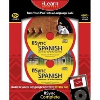 iSync Complete Spanish (Audio and visual language learning at your fingertips!)