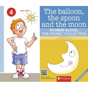 The balloon,the spoon and the moon. Anglès/català