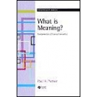 What is meaning? : fundamentals of formal semantics