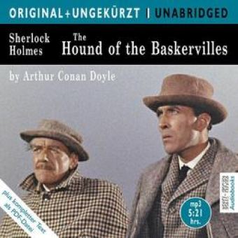 The Hound of the Baskervilles, 1 MP3-CD