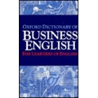 Oxford dictionary of business English for learners English