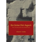 Res Gestae Divi Augusti (Text, translation and commentary)