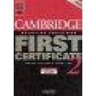 Cambridge Practice Tests for First Certificate 2. Self-Study edition