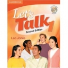 Let's Talk 1 Second edition Student's Book with Self-Study Audio CD