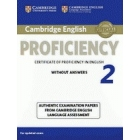 Cambridge English Proficiency 2 without answers