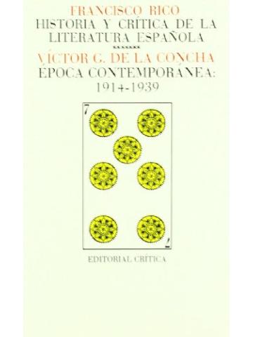 francisco rico historia y critica de la literatura española pdf