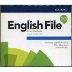 English File 4th edition - Intermediate - Class Audio CDs