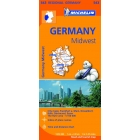Alemania Centro Oeste/Allemagne Centre Ouest (regional-naranja) 543 1/150.000