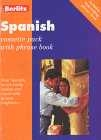 Spanish cassette pack with phrase book