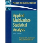 Applied Multivariate Statistical analysis