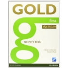 Gold First New Edition Teacher's Book. 2015