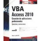 VBA Access 2010. Domine la programación en Access