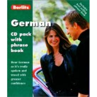 German : CD pack with phrase book
