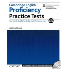 Cambridge English: Proficiency (CPE): Practice Tests with Key: Four tests for the 2013 Cambridge English: Proficiency exam