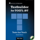 Testbuilder for TOEFL iBT + Audio CD Pack