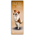 Yoga Dogs & Puppies 2019 Slimline Calendar