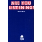 Are your listening? (cassette)