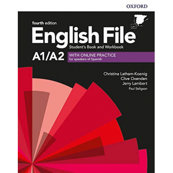 English File 4th edition - A1/A2 - Elementary - Student's Book + Workbook with Key Pack