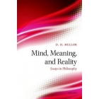 Mind, meaning and reality: essays in philosophy