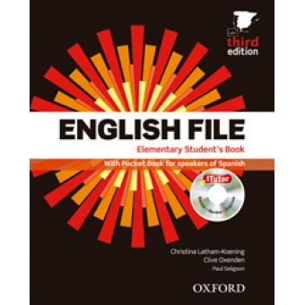 English File Elementary Student's Book+Workbook+vocabulary checker (Pack) Third edition 2012