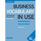 Business Vocabulary in Use: Intermediate Book with Answers Third Edition