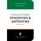 Dictionary of English Synonyms and Antonyms