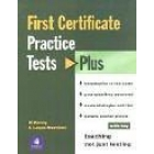 First Certificate Practice Tests Plus 1 With key