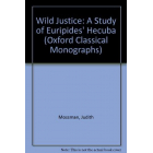 Wild justice. A study of Euripides' Hecuba